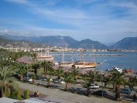 Alanya harbour